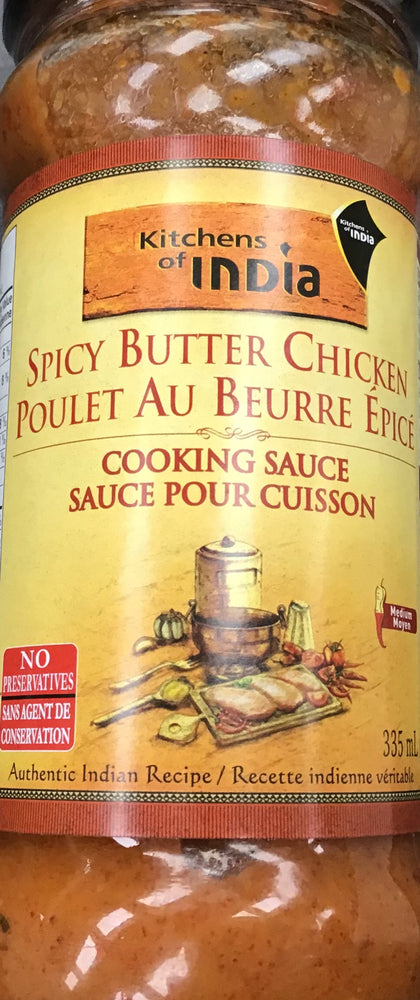 KOI Spicy butter Chicken cooking Sauce