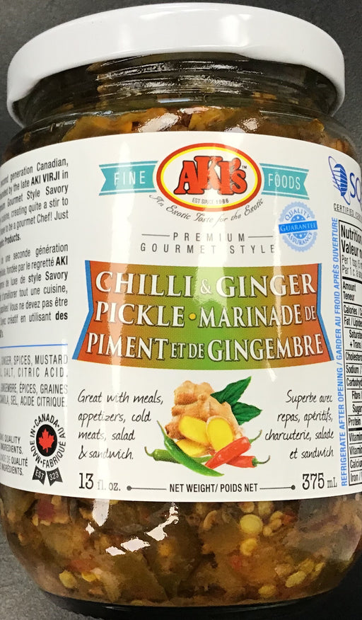 Akis Chilli Ginger Pickle 375ml