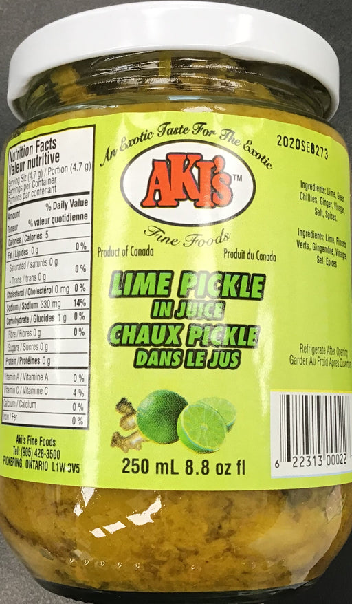 Akis Lime Pickle 250ml