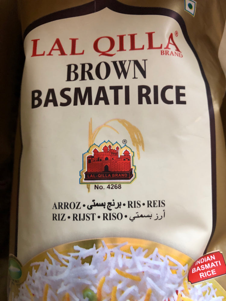 Lal Qilla Brown Basmati Rice 10lbs