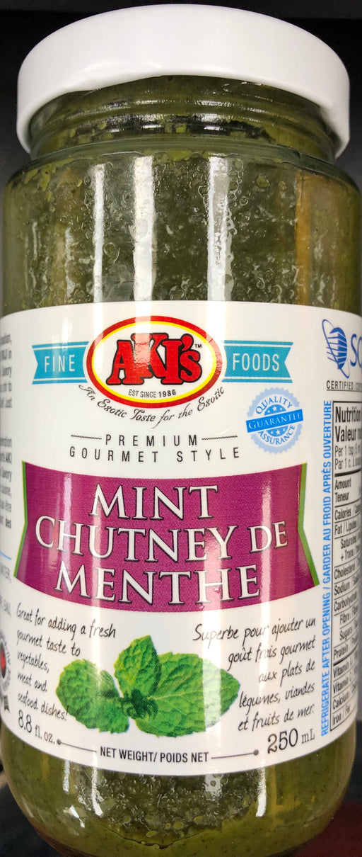 Akis Mint Chutney 250ml