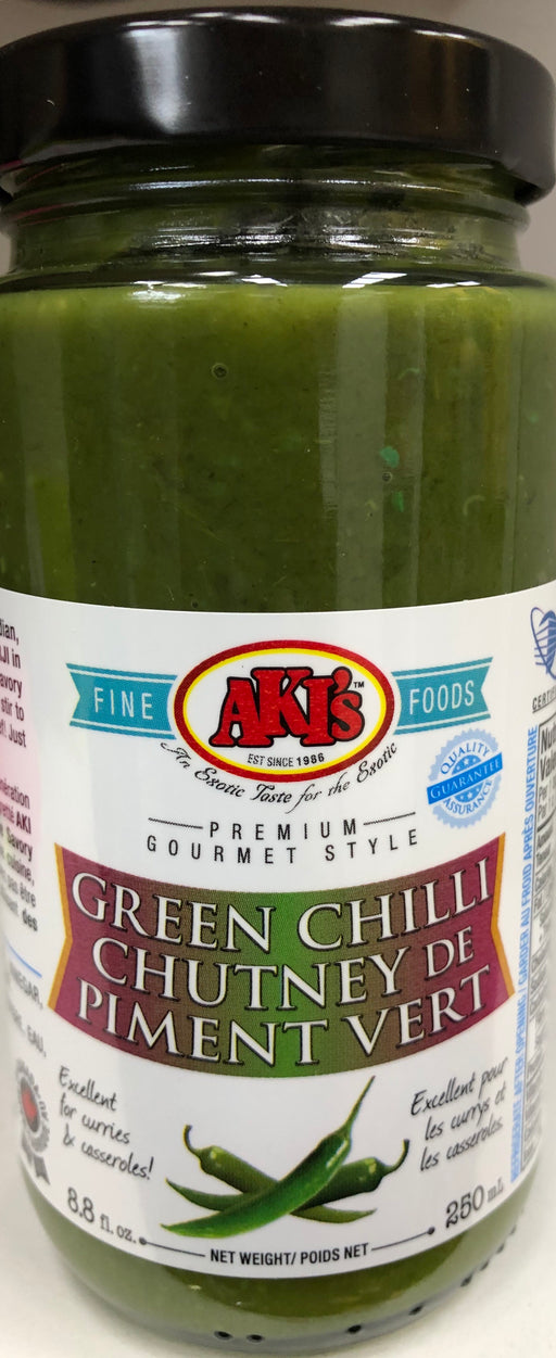 Akis Green Chilli Chutey 250ml