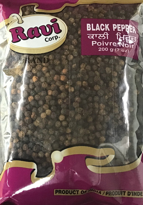 Ravi Black Pepper 200gm