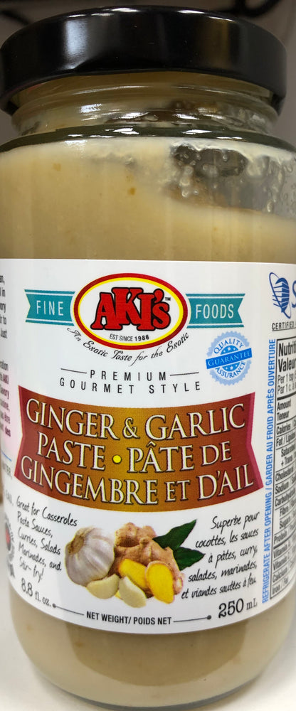 Akis Ginger Garlic Paste 250ml