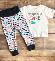 O Fish Ally ONE Birthday Outfit, Fishing outfit, Birthday Fishing, Fishing Buddy - Josie and James
