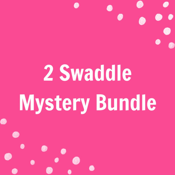 2 Swaddle MYSTERY Bundle - Josie and James