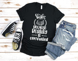 Reality is Overrated, Book Tee, Bookish Tee, Unisex Tee