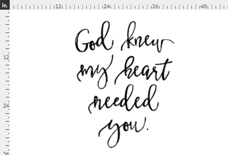 God Knew My Heart Needed You, Flat Lay blanket, milestone blanket - Josie and James
