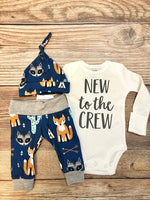 New to the Crew Southwest Coming Home Outfit, Newborn Outfit