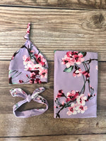 Eleanor Floral Swaddle Set - Josie and James