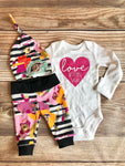 Love at First Sight Fall Spice Newborn Outfit