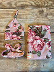 The Kathleen Floral Swaddle Set - Josie and James