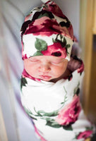 The Harper Floral Swaddle Set - Josie and James