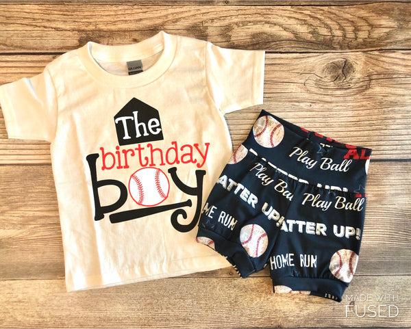 Baseball Birthday Outfit, birthday boy, little slugger, baseball, tee ball, play pall - Josie and James