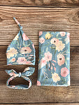 Morgan Floral Swaddle Set - Josie and James