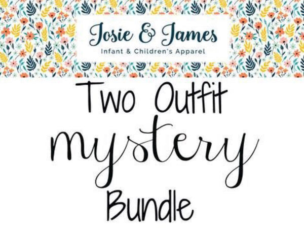 2 outfit mystery bundle - Josie and James