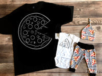 Dad and Baby Pizza Outfit, Slice, Home Slice, Pizza Outfit, Mommy and Me, Daddy and Me, Spring