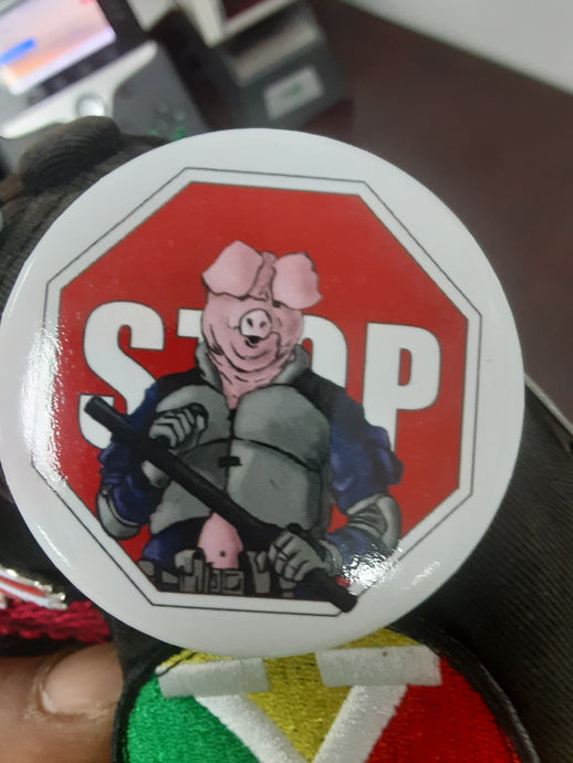 Stop Brutality Button