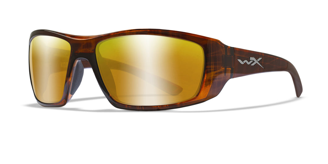 [Gloss Hickory Brown / Polarized Venice Gold Mirror]