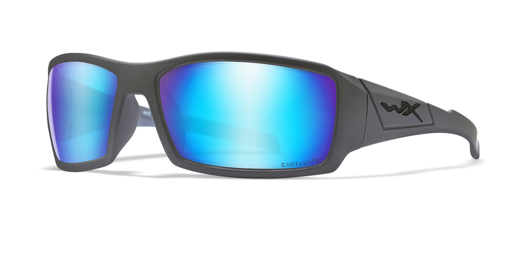 Matte Grey / Captivate™ Polarized Blue Mirror