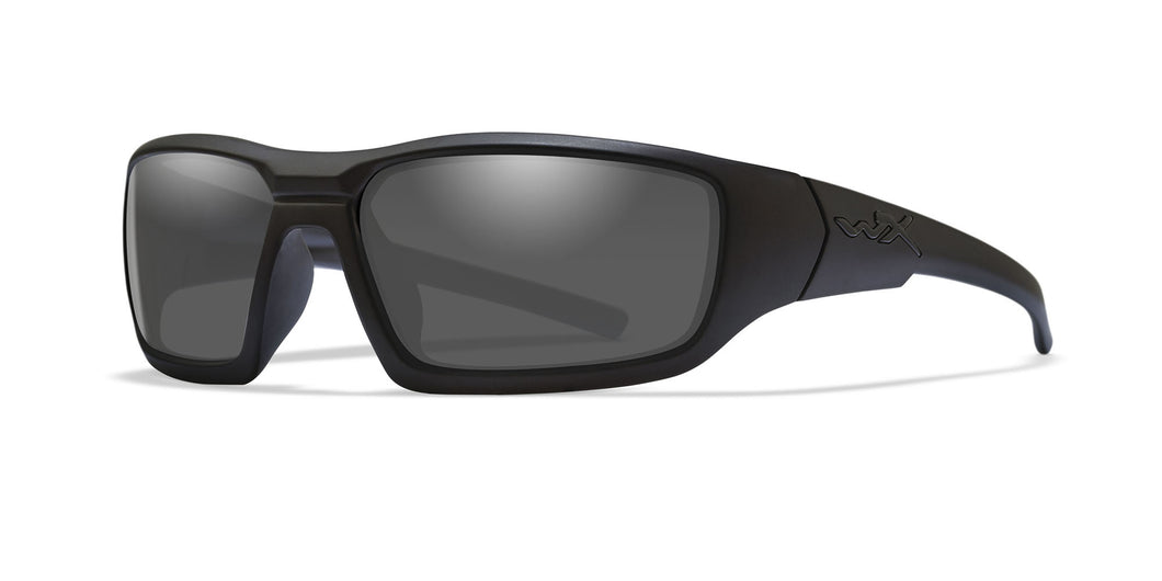 Matte Black / Polarized Smoke Grey