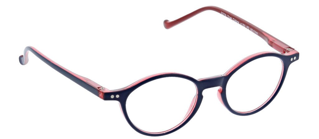 [Navy - Red / Clear]
