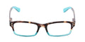 Teal - Tortoise / Clear