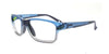 51 - Frosted Blue Grey / Non-prescription / Anti-Glare - Clear