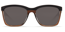[Shiny Black on Brown Frame / Gray 580P]