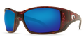 Tortoise Frame / Blue Mirror Glass - W580