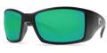 Matte Black Frame / Green Mirror Glass - W580