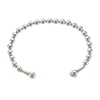 4mm Bead Baby Cuff Bangle