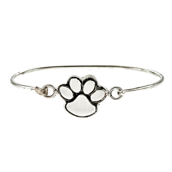Satin Paw Bangle