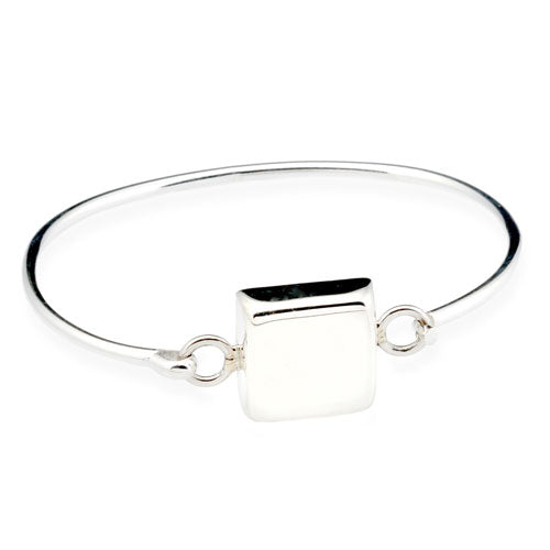 Puffed Square Bangle