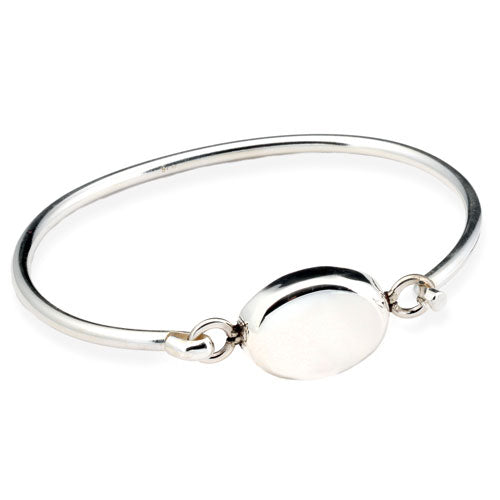 Puffed Oval Bangle