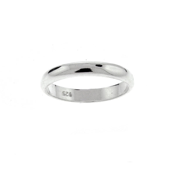 3mm Plain Wedding Band