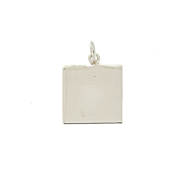 Square Disc Pendant