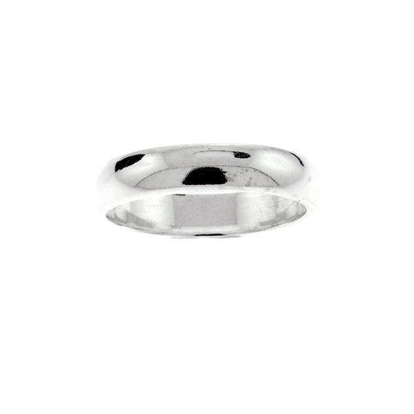 4mm Plain Wedding Band