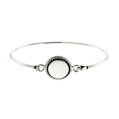 Baby 13mm Round Rope Bangle