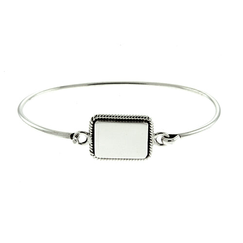 Rectangle Rope Bangle