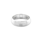 6mm Plain Wedding Band