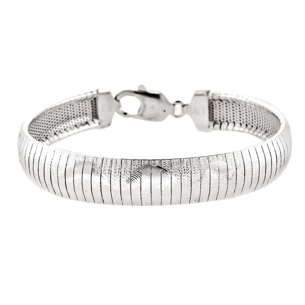Slinky Spiral Flex Bangle