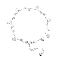 Dangling Heart Anklet
