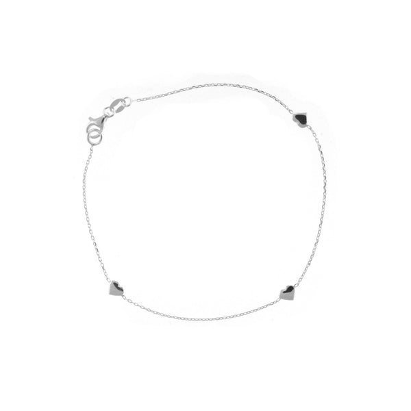 Heart Station Anklet