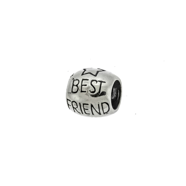 Best Friend Bead Charm