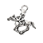 Equestrian Jockey and Horse Charm
