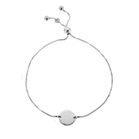 12mm Disc Adjustable Bracelet