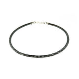 3mm Black Rhodium Hollow Snake CT 300 Chain