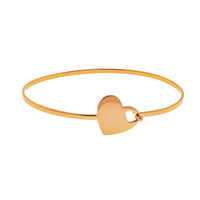 Bisou Heart Bangle