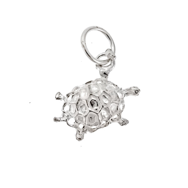 Filigree Turtle Charm